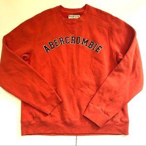 Vintage Abercrombie & Fitch orange men's size M